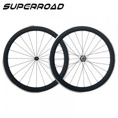 700C Carbon Clincher Wheels 50mm Aluminum Braking Surface
